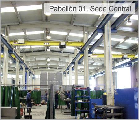 Pabellón Caldereria Urretxu: Sede Central
