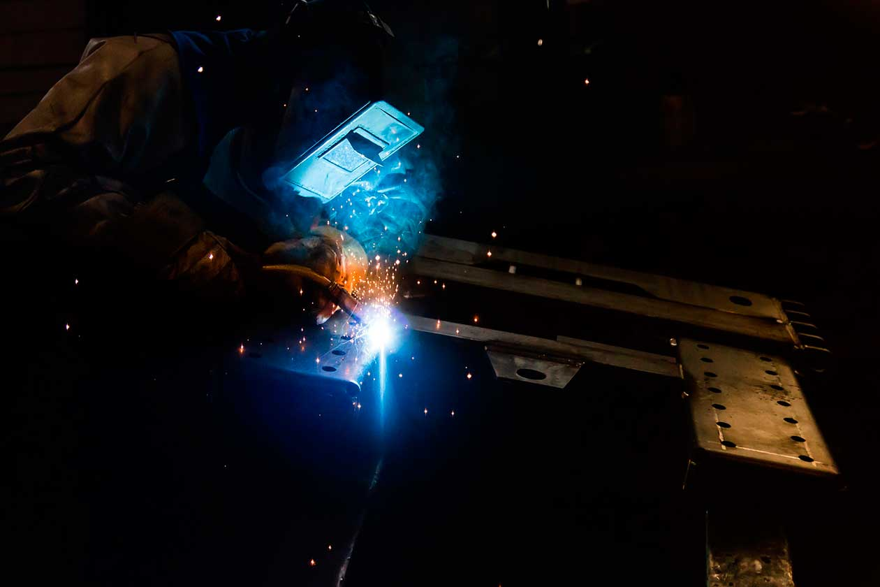 Welding of metal structures