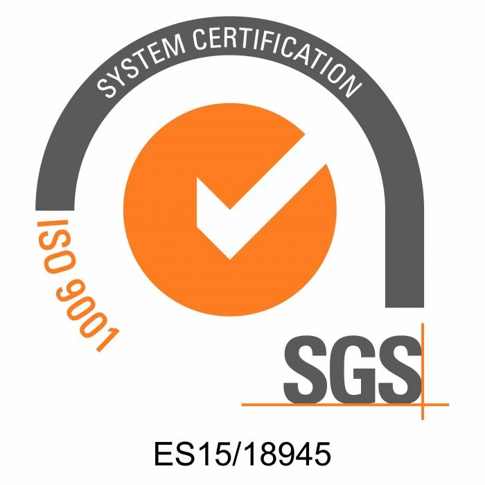 UNE-EN-ISO 9001:2015 Caldereria Urretxu